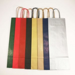 Spalvoti popieriniai maišeliai