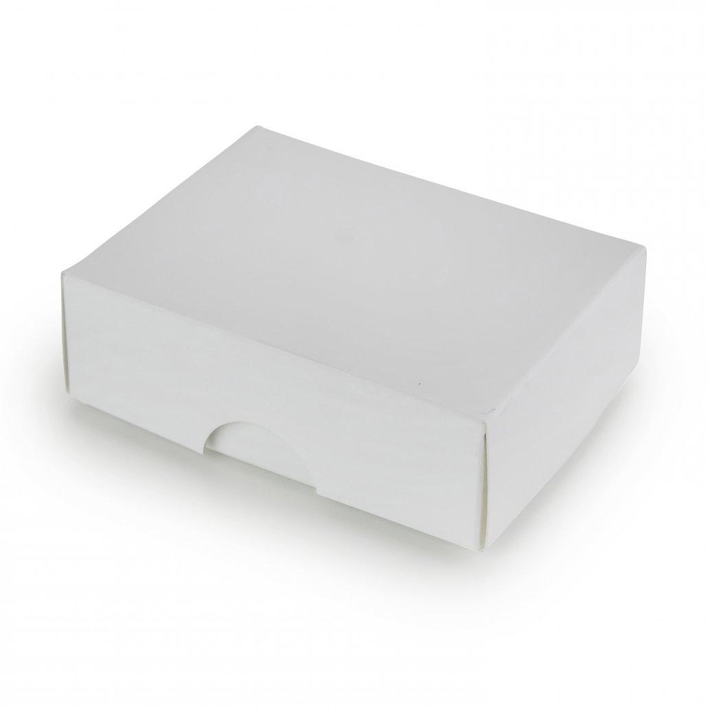 Balta Dviejų Dalių Dėžutė