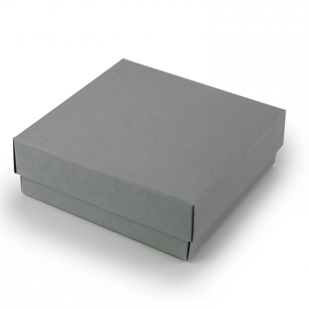 Pilka Dviejų Dalių Dėžutė