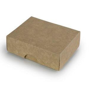 Ruda Dviejų Dalių Dėžutė
